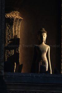 Haw Pha Kaew statue./ Vientiane/Laos