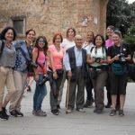 Members of Club de Fotografia del Peru with local old man