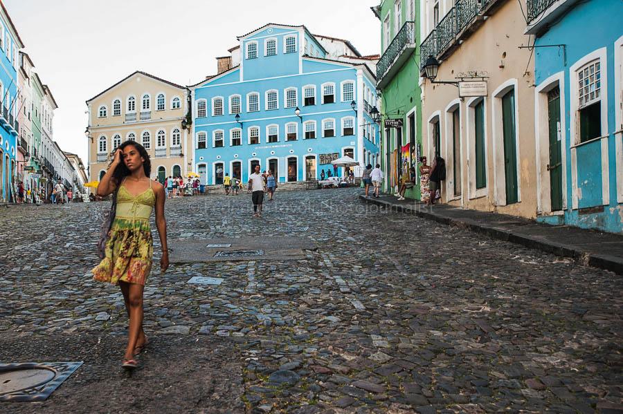 Salvador de Bahia anima africana