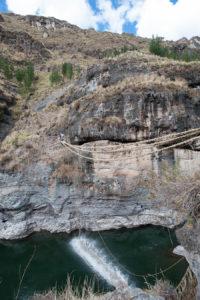L'ultimo ponte sospeso.